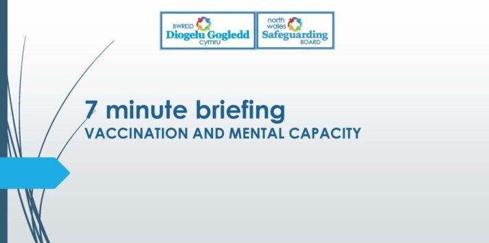 Vaccination and Mental Capacity