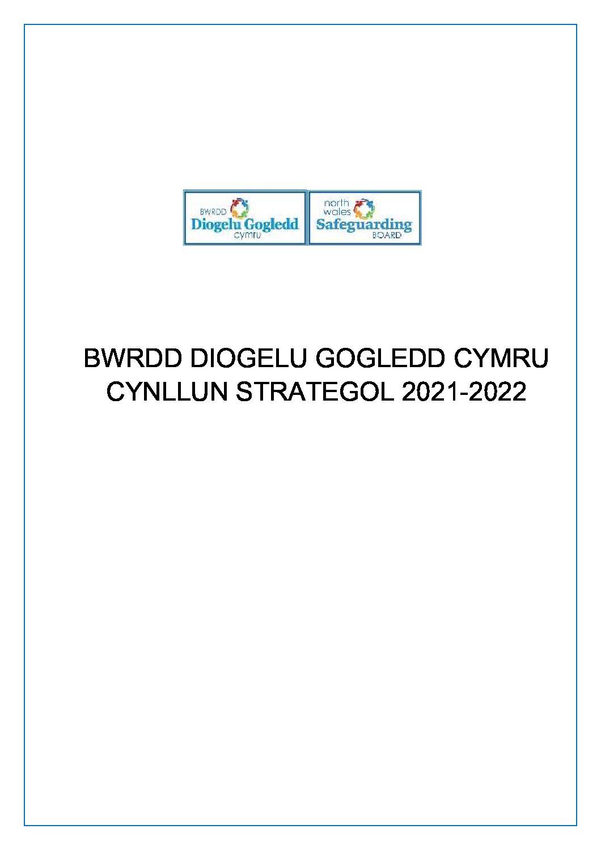 BDGC Cynllun Strategol 2021 – 2022