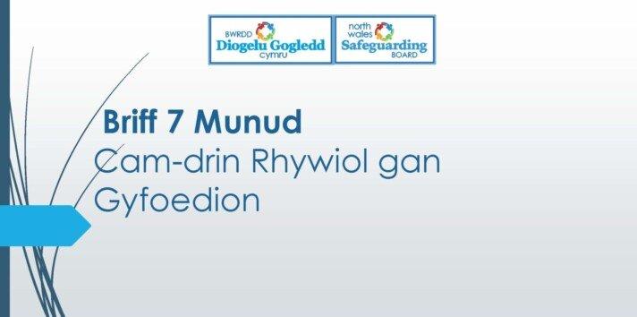 Cam-drin Rhywiol gan Gyfoedion