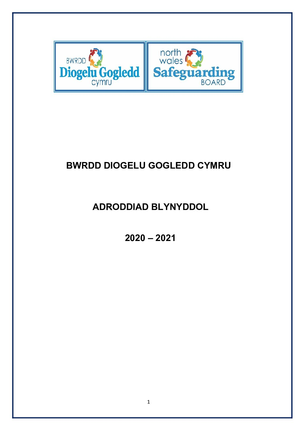 BDGC Adroddiad Blynddol 2020 /2021